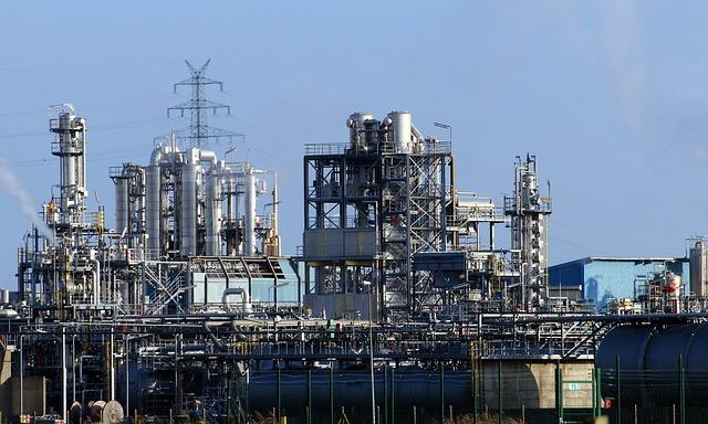 Gazen voor de petrochemische industrie